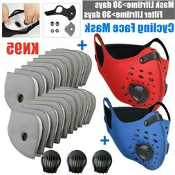 Replaceable Sports Face Protection Maske With Filter Pads Wi