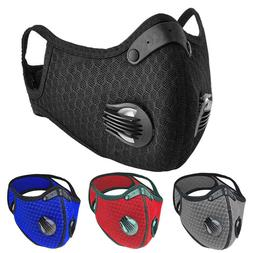 Reusable Easy Breath Sports Face Mask with Breathing Valves