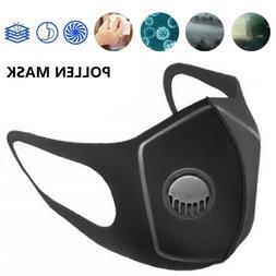 Reusable Lightweight Polyurethane Sponge Face Mask w/ Air Fi