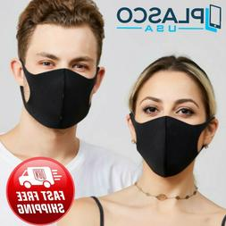 Reusable Mask Black Pink White Cloth Washable Protective Mou