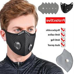 Reusable Outdoor Sports Mouth Mask With 4-Layer Filters Pad1