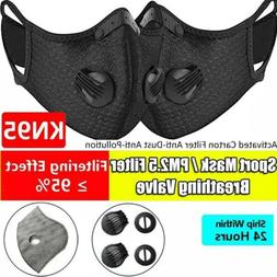 reusable sport face mask w valve