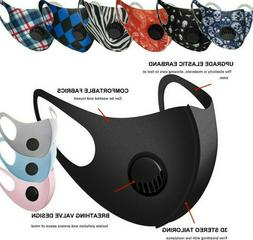 Reusable Washable Adult Soft Cloth Breathable Face Mask With