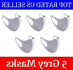 Reusable Washable Cloth Face Mask with Air Valve + PM2.5 Car