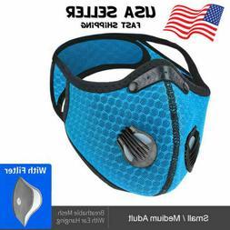 Reusable Washable Neoprene Air Ventilation Port Face Mask +P