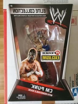 Ringside Collectibles Exclusive SES Mask CM Punk Autographed