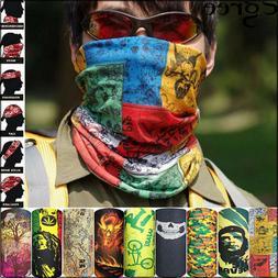 Scarf Mask For Face Protect Headwear Scarf Neck Wrap Bandana