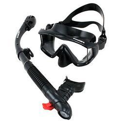 Scuba Diving Snorkeling Purge Mask Ultra Dry Snorkel Water S