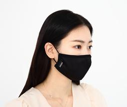 REUSABLE, WASHABLE ZERONIC SILVER FACE MASK, MADE IN KOREA,