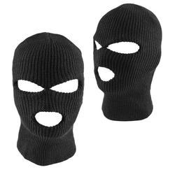 Ski Mask Balaclava 3 Hole Beanie Outdoor Full Face Cover Hoo