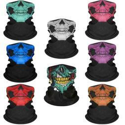 Skull Balaclava Face Mask Gaiter Neck Biker Bandana Winter S