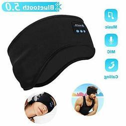 Sleep Headphones Bluetooth Headband Wireless Music Sport Eye