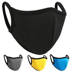 Soft Face Mask Double Layer Breathable Reusable Washable Men