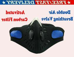 Sport Face Mask With Filter Activated Carbon PM 2.5 Anti-Pol