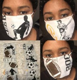 Sport, Safety face mask with microfiber filter $5 each