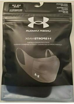 Under Armour Sports Face Mask Size S/M Small Medium Black Ch