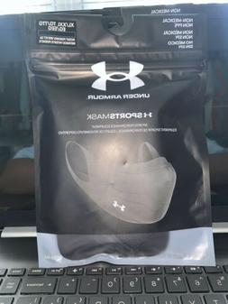 Under Armour Sports Face Mask Size XL/XXL Extra Large 2XL Bl