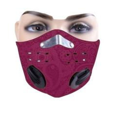 Sports Mask face mask neoprene with Filter, vents. Great fit