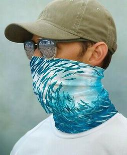 SUN GAITER Sea Life UPF 50+ UV Protecter Fishing Sport Outdo