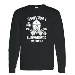 Survivor Mask Men's Long Sleeve T-shirt