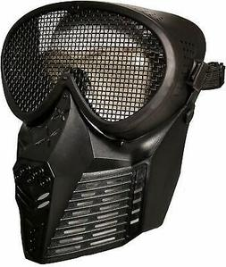 Tactical Outdoor Sports Field Mask Military Wire Mesh Protec