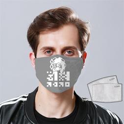 Team Order - Splatoon 2 Face Mask Fabric Reusable Washable U