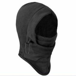 Thermal Fleece Balaclava Hat Hooded Neck Warmer Face Mask Wi