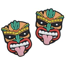 Tiki Mask Tennis Shock Absorbers by Racket Expressions. Grea