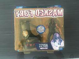 TOY BIZ TNA Masked FURY Abyss New in package .