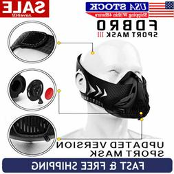 Training Mask Fitness MMA Cardio Mask Sport Mask FDBRO 3.0 H