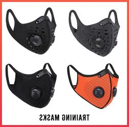 training mask sports running cardio with filters