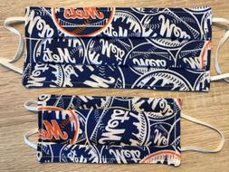 Two Face Masks. NEW YORK METS.  Adult And Child Sizes.   Han
