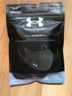Under armour Sportsmask Sports Face Mask, Size XL/XXL - Blac