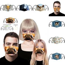 Unisex Air Purifying Facemask Mouth Mask Cover Protect Mouth