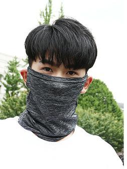 Unisex Summer Sport Ice Silk Neck  Headband UV Protection Ea
