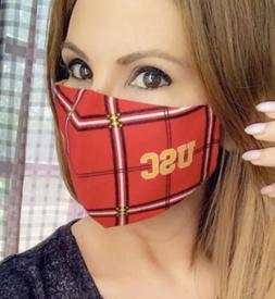 USC Face Mask Sports Facemask University Of Southern Califor