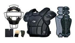 Champro Professional Varsity Umpire Complete Gear Set Black