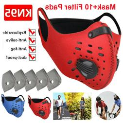Washable Reusable Sport Face Mask Replaceable 3/4/5 Layer Fi