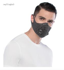 WEST BIKING Sport Face Mask With Filter Activated Carbon PM