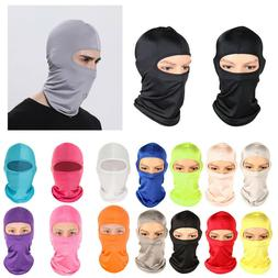Windproof Riding Headgear Face Mask Motorcycle Sports Sun Pr
