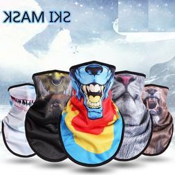 Winter Fleece Ski Mask Cycling Snowboard Equipment Head Prot