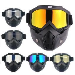 Winter Snow Ski Mask Snowboard Face Goggles Glasses Snowmobi