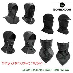 ROCKBROS Winter Warm Face Mask Sports Thermal Fleece Caps Cy