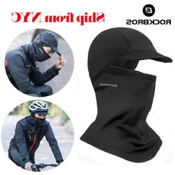 ROCKBROS Winter Thermal Face Mask Headwear Sports Cap With H