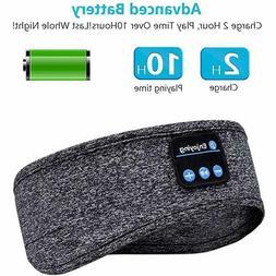 Wireless Bluetooth 5.0 Earphone Sleep Mask Sport Headband So