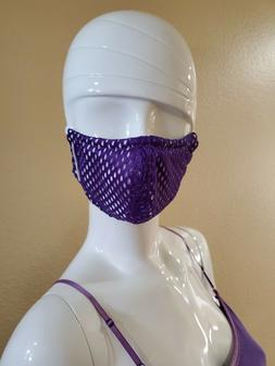 Women's Purple Summer Fashion 2.5 Filter Sports Reusable Fac