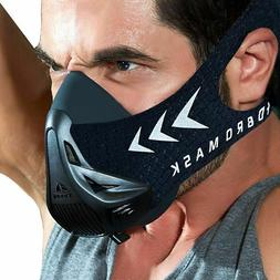 Workout Breathing Mask Fitness Gym Sport Running Cardio Trai