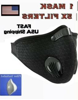 Workout Mask For Running Sport Fitness With 5 Filters includ